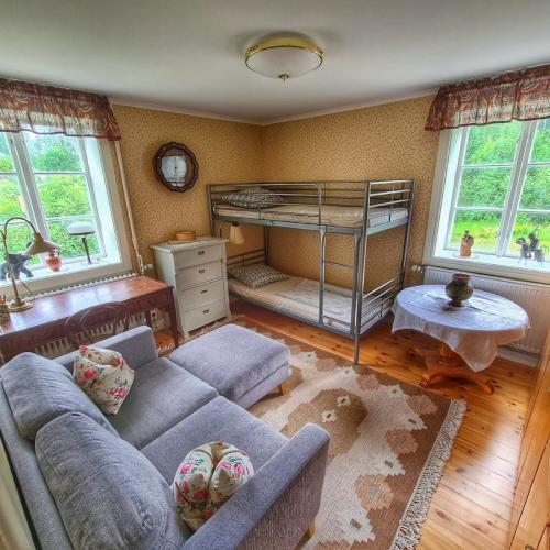 Ferienhaus Mittelschweden Schlafzimmer Erdgeschoss
