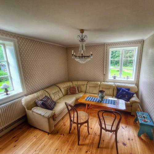 Ferienhaus Mittelschweden Wohnzimmer